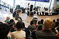 US Navy 100915-N-3271W-142 Navy Band Northwest talks to high school kids.jpg