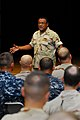 US Navy 101028-N-5821P-031 Vice Adm. D.C. Curtis speaks to members of the Surface Navy Association and surface warfare community.jpg