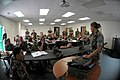 US Navy 110614-N-IL826-121 Seabees receive hands-on training with the SB-22 communication switchboard at the Construction Battalion Center training.jpg
