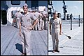 US Navy aviation officer candidate aboard USS Saipan (CVL-48) in 1956.jpg