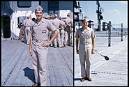 USS Saipan 1956