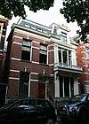 foto van Herenhuis in rijk versierde eclectische bouwstijl