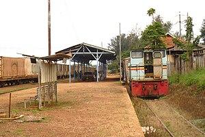 Uganda Railways Corporation - Tororo railway station.
