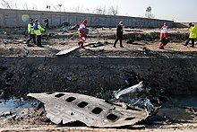 Ukraine Air Boeing 737 Crashes in Southern Tehran 2020-01-08 08.jpg