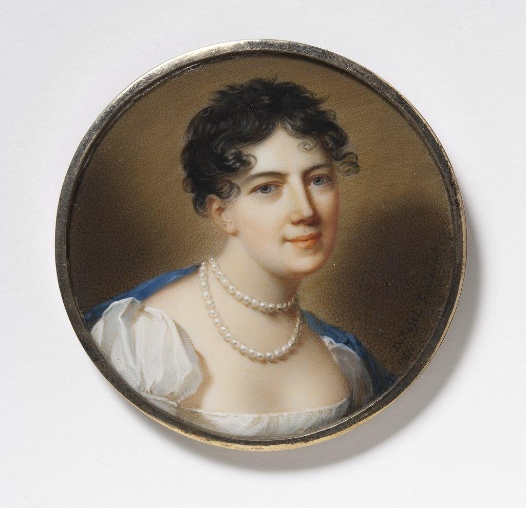 Ulrika Magdalena Levin, 1771-1828, married 1. Björkman, 2. Skjöldebrand, Baroness - Nationalmuseum - 24820.tif