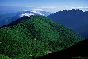 Mount Senjō - Image: Umanose from Kosenjo 2001 8 17