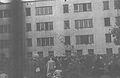 Umschlagplatz dziedziniec szkoły 1942.jpg
