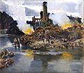 Un fuego o una batalla, de Antonio Muñoz Degrain (Museo del Prado).jpg