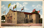 Under six flags, Alamo, San Antonio, Texas
