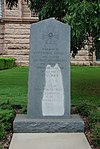 Monument to Confederate war soldiers