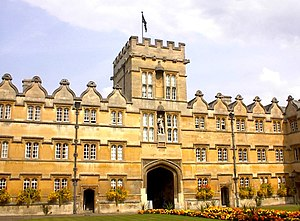 University College, Oxford - Quad, University College, Oxford University