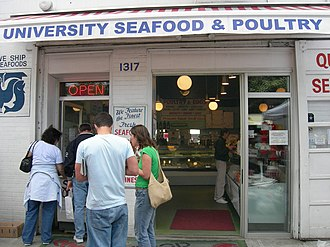 University District, Seattle - Image: University Seafood and Poultry 01A
