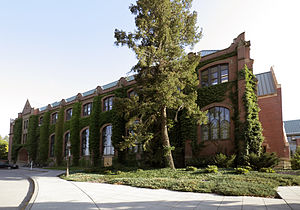 University of Idaho - Administration Building's north wing (1912)