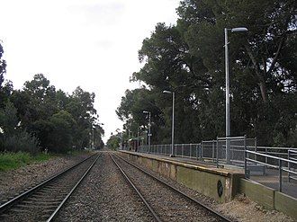 Unley Park railway station - Image: Unley Park North Aug 2008