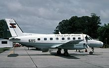 Uruguay Air Force (585) Embraer R-95 Bandeirante (EMB-110B).jpg