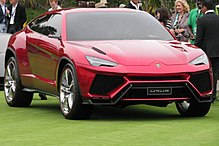 Lamborghini Urus history, photos on Better Parts LTD