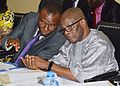 Usani Uguru Usani (Minister) and Claudius Daramola (Minister of State) Ministers of Niger Delta Affairs.jpg