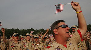 Young Men (organization) - In the United States and Canada, the LDS Church uses Scouting as the activity arm of the Young Men organization, which often includes its use as part of the weekly activities