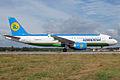 Uzbekistan Airways, UK32017, Airbus A320-214 (16270426507).jpg