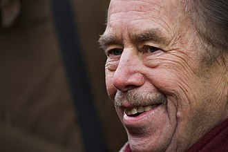 Prague Declaration on European Conscience and Communism - Founding signatory Václav Havel, former President of Czechoslovakia and the Czech Republic, who was also one of the initiators of Charter 77