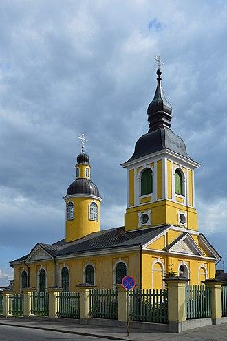 Estonian Apostolic Orthodox Church - Saint Catherine's Estonian Apostolic Orthodox Church in Võru.
