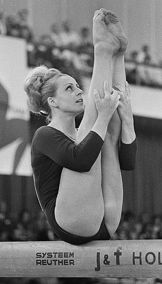 Věra Čáslavská - Čáslavská at the 1967 European Championships