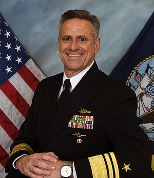 Chief of Naval Personnel - Image: VADM Robert P. Burke (CNP)