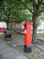VR Postbox, near Cosin's Hall, Durham - geograph.org.uk - 1007755.jpg