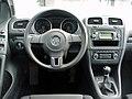 VW Golf VI 1.6 Comfortline Deep Black Interieur.JPG