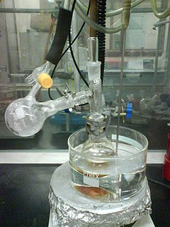 Vacuum distillation distillation performed under reduced pressure, which allows the purification of compounds not readily distilled at ambient pressures or simply to save time or energy
