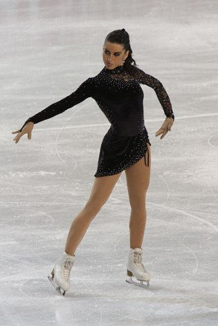 Valentina Marchei at 2010 European Championships
