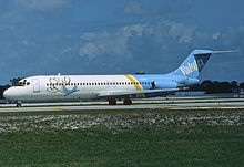 ValuJet DC-9-32; N1266L@FLL, February 1994 (5423968471).jpg