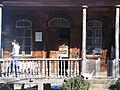Vana puumaja uks Tbilisi vabaõhumuuseumis 2006.jpg