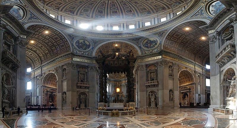 File vatican altar wikimedia commons for Exterieur basilique saint pierre