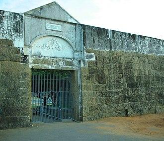 Vattakottai Fort - Image: Vattakottai Fort Entrance