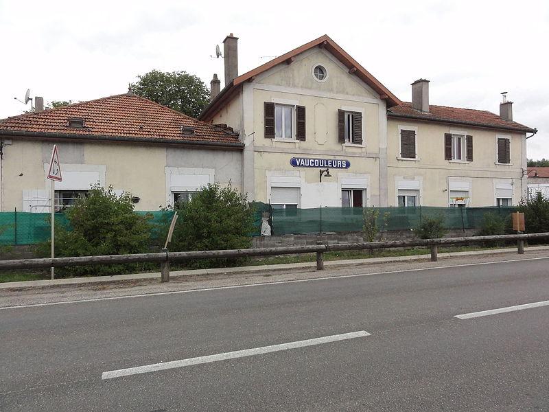 Vaucouleurs (Meuse) ancienne gare