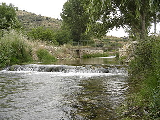 Huerva - The Huerva in Vistabella