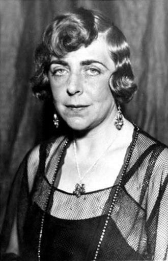 Vicki Baum - Portrait of Vicki Baum by Max Fenichel, ca. 1930.