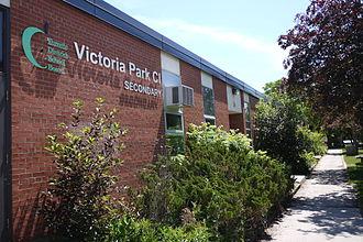 Victoria Park Collegiate Institute - Image: Victoria Park Collegiate Institute 20150607