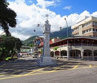 Victoria, Seychelles - Victoria Clocktower