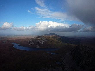 Mount Errigal - Image: View From Errigal