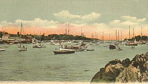 Georgetown, Maine - Five Islands, Georgetown, ME; from a c. 1906 postcard published by G. W. Morris
