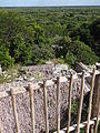 View from atop Acropolis - Ek Balam Archaeological Site - Near Valladolid - Yucatan - Mexico.jpg