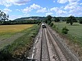 View of Railway off Bridge, near Reigate - geograph.org.uk - 28974.jpg