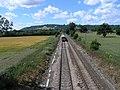 View of Railway off Bridge, near Reigate - geograph.org.uk - 28974.jpg