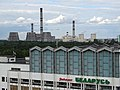 View toward Power Plant from 13th Floor of Turist Hotel - Minsk - Belarus (27525111165).jpg