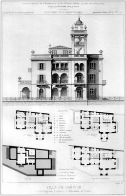villa garnier bordighera bonillo 2004. Black Bedroom Furniture Sets. Home Design Ideas