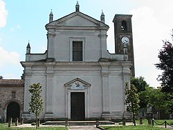 Church of San Leonardo in Villarocca, Pessina Cremonese