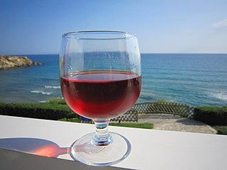 Cretan wine Wine from the Greek island of Crete