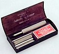 Vintage Valet AutoStrop Model C Special Set With VC1 SE Safety Razor, Made In USA, Circa 1935 (29486100175).jpg
